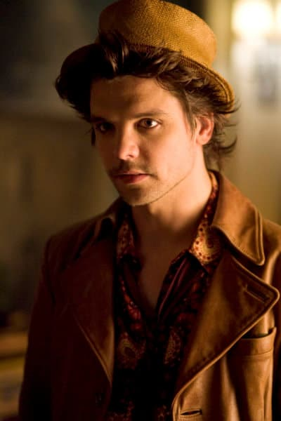 ALICE -- Pictured: Andrew-Lee Potts as The Hatter -- Syfy Photo: James Dittiger