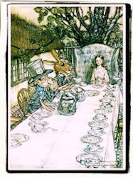 Ilustraciones de Arthur Rackham