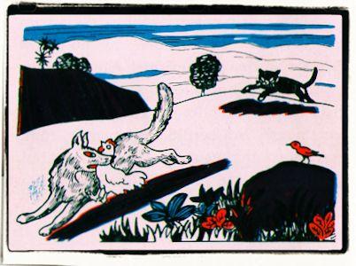 El gato, el gallo y la zorra