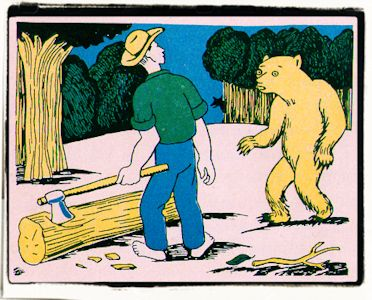 El campesino, el oso y la zorra