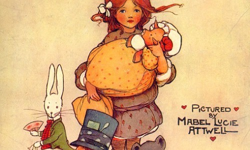 Ilustraciones de Mabel Lucie Attwell