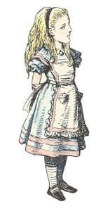 Dibujos clásicos de Tenniel coloreados II
